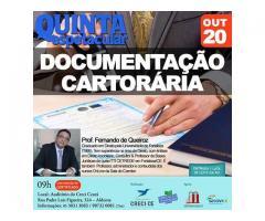 Palestra sobre Documentação Cartorária Imobiliária em Fortaleza