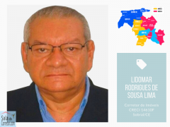Lidomar Rodrigues de Sousa Lima - CRECI/CE 14.610F