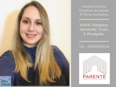 Carolina Parente - CRECI/CE 18.110F